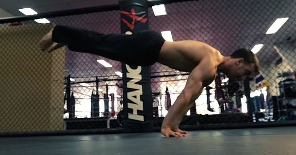 You Won't Believe This Australian Breakdancer's Incredible Strength Even After You See It